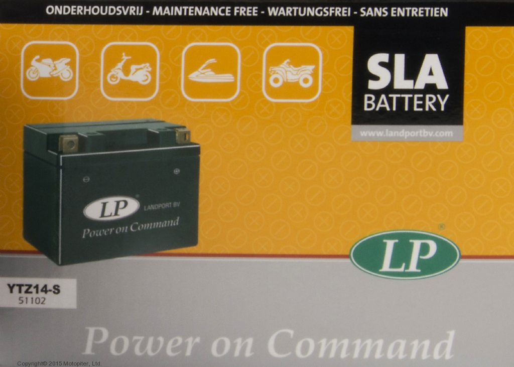 Аккумулятор SLA герметизированный YTZ14S