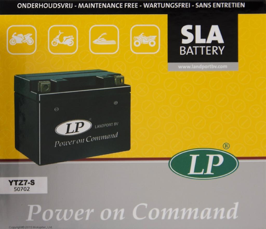 Аккумулятор SLA герметизированный YTZ7S