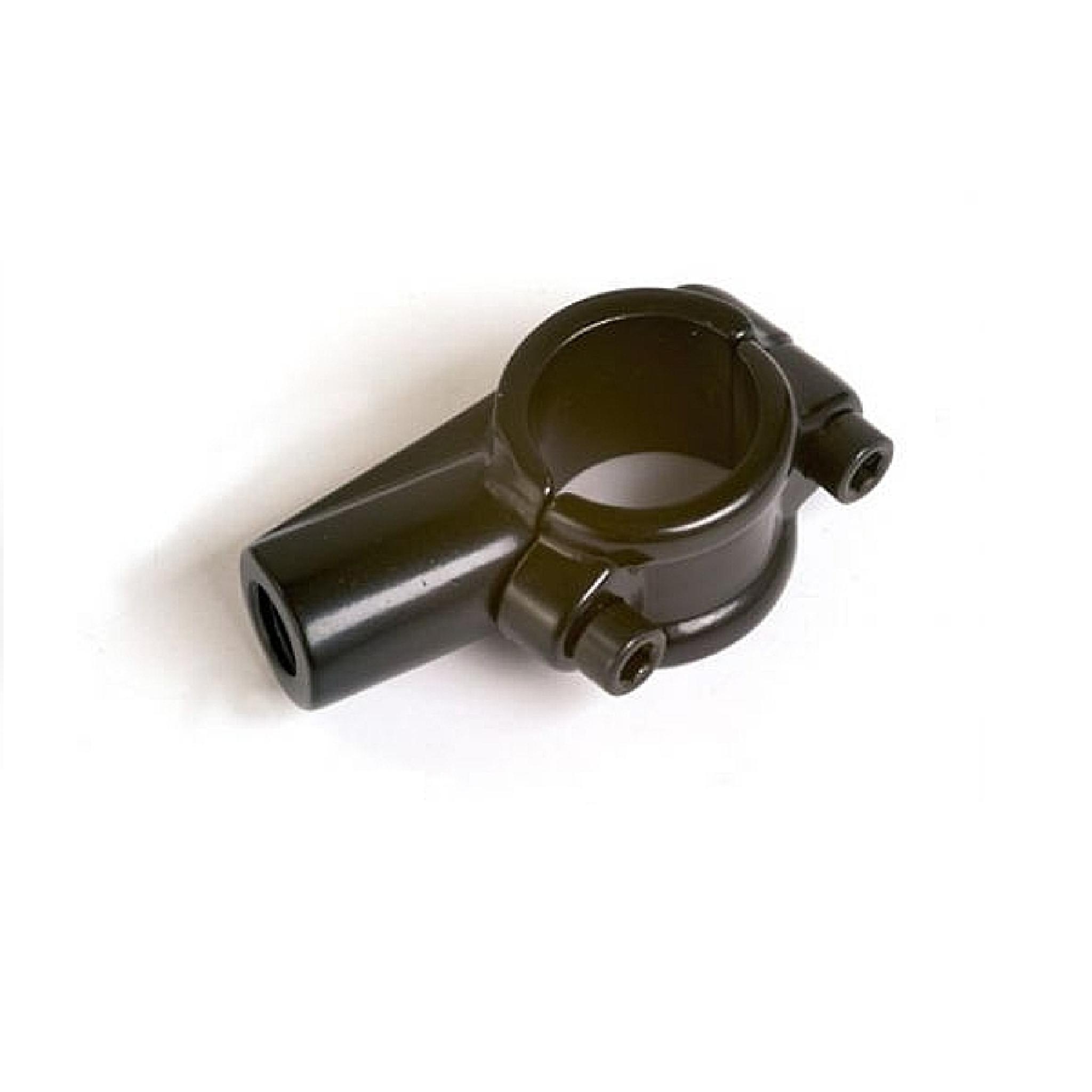 Адаптер крепления зеркала 22 мм черный