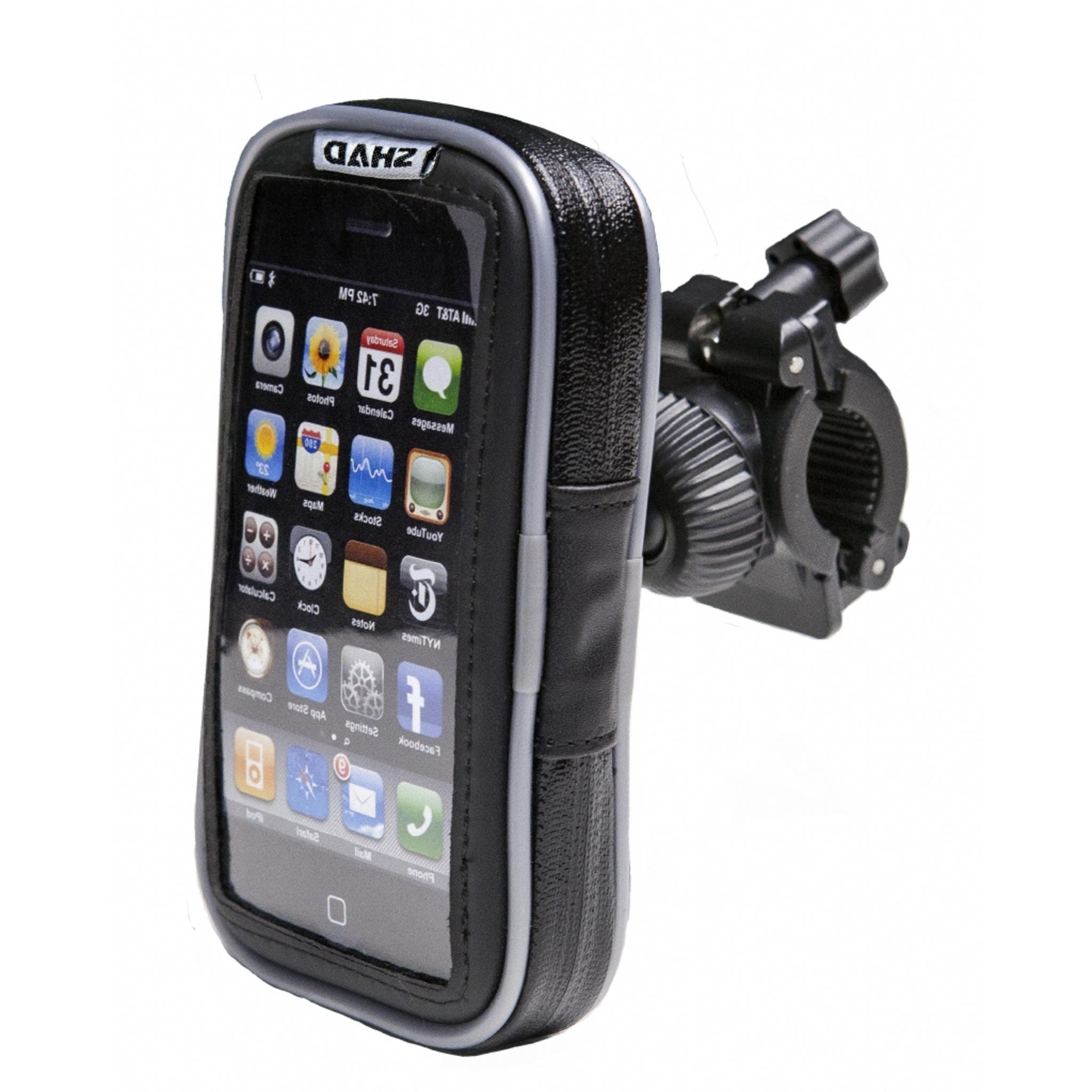 Чехол текстильный для iphone 3-4 c креплнием на руль