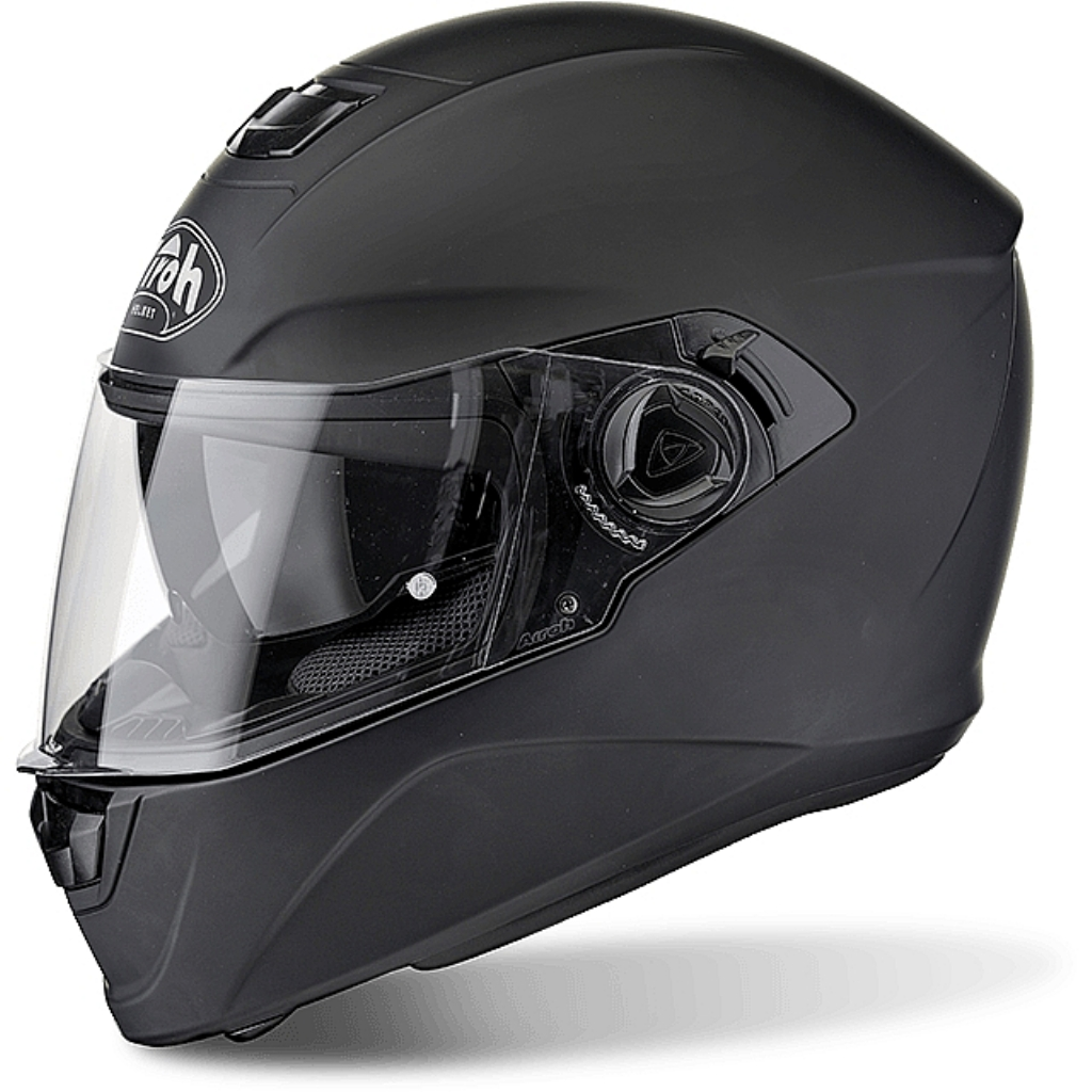 Шлем интеграл Storm черный мат
