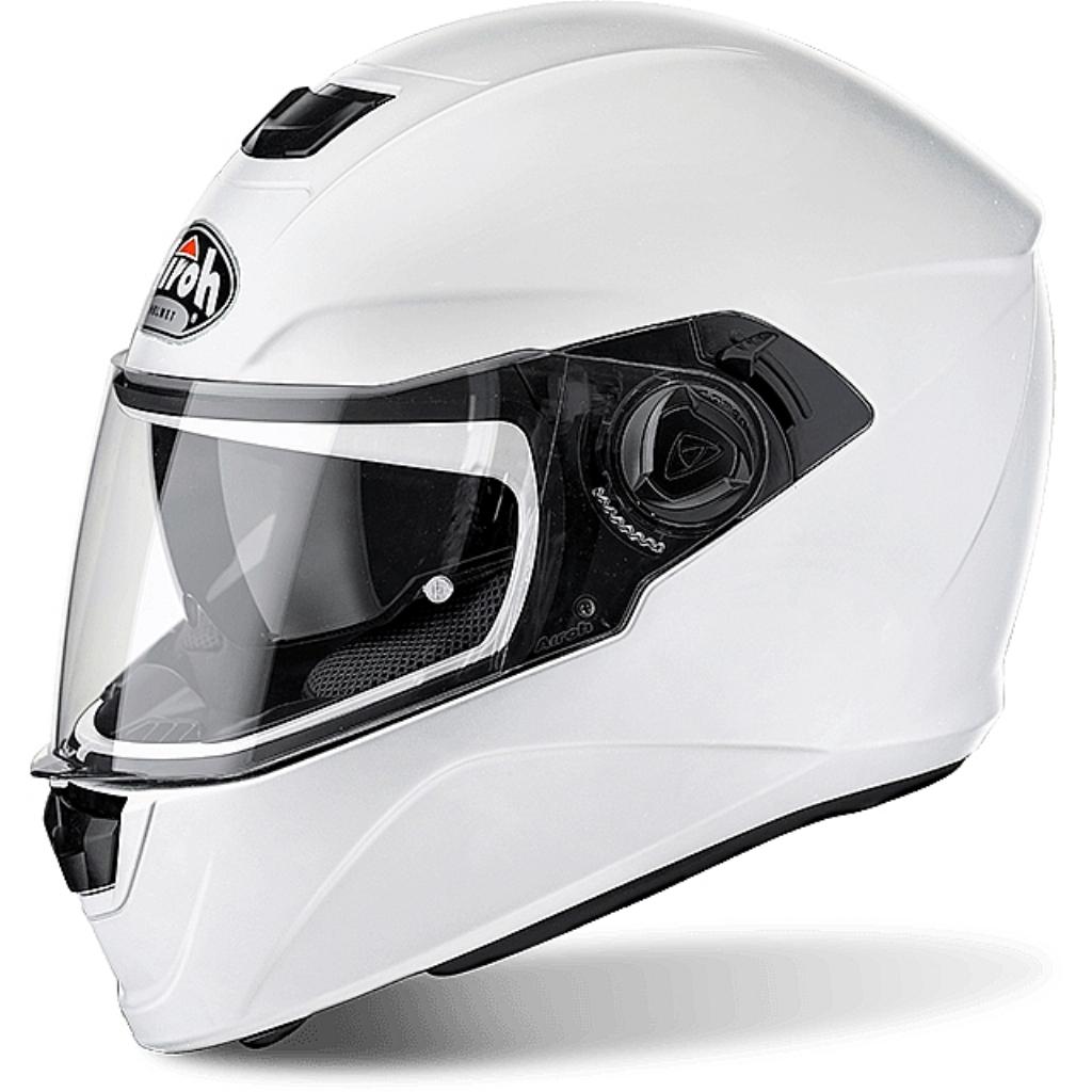 Шлем интеграл Storm белый глянцевый