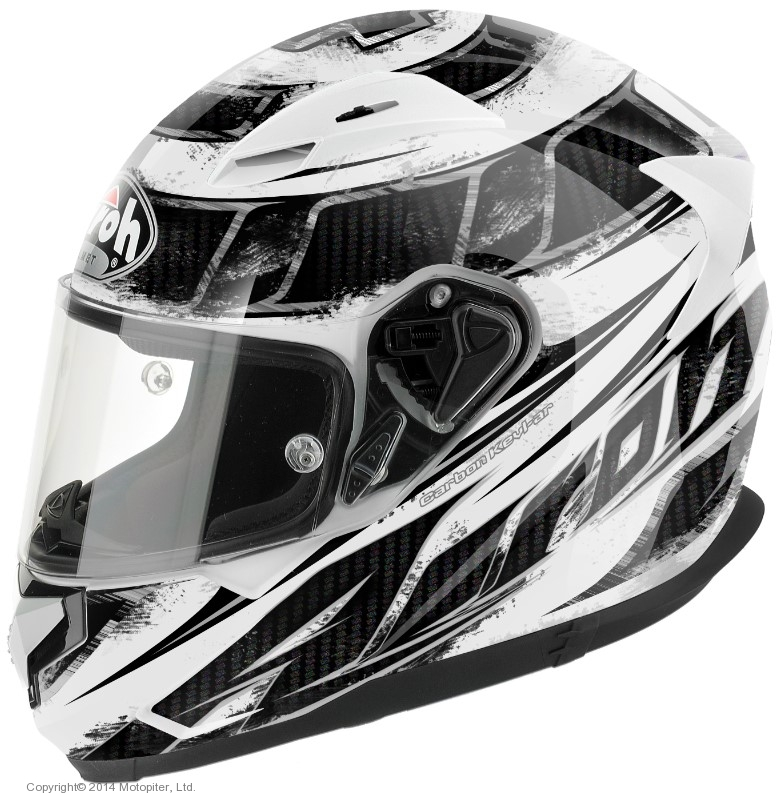 Шлем интеграл T600 KNIFE белый