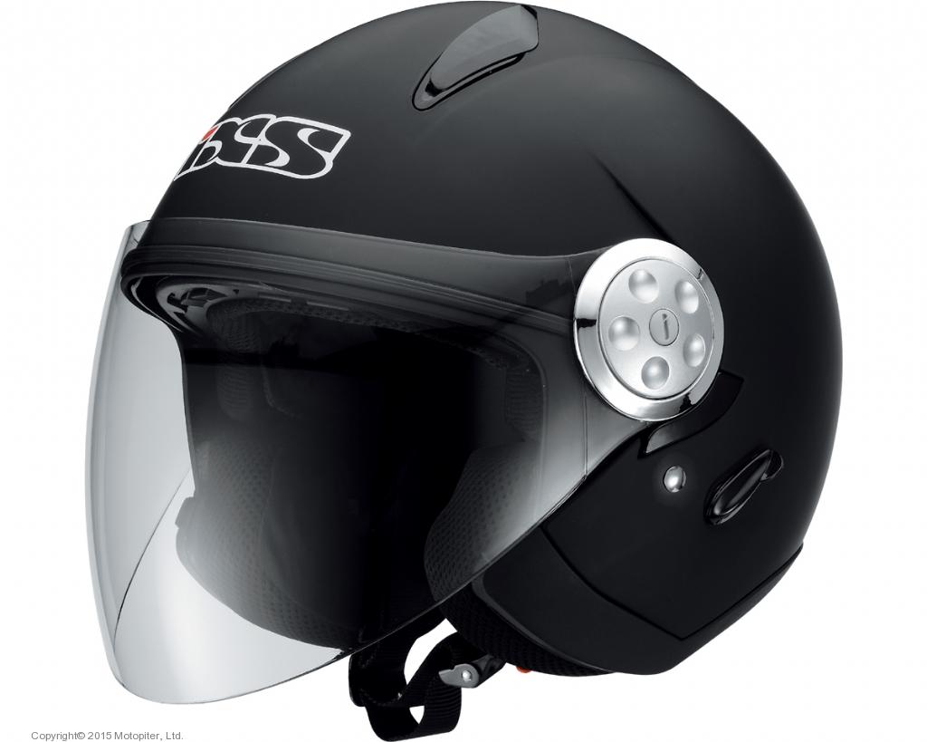 Шлем открытый IXS HX137, мат.