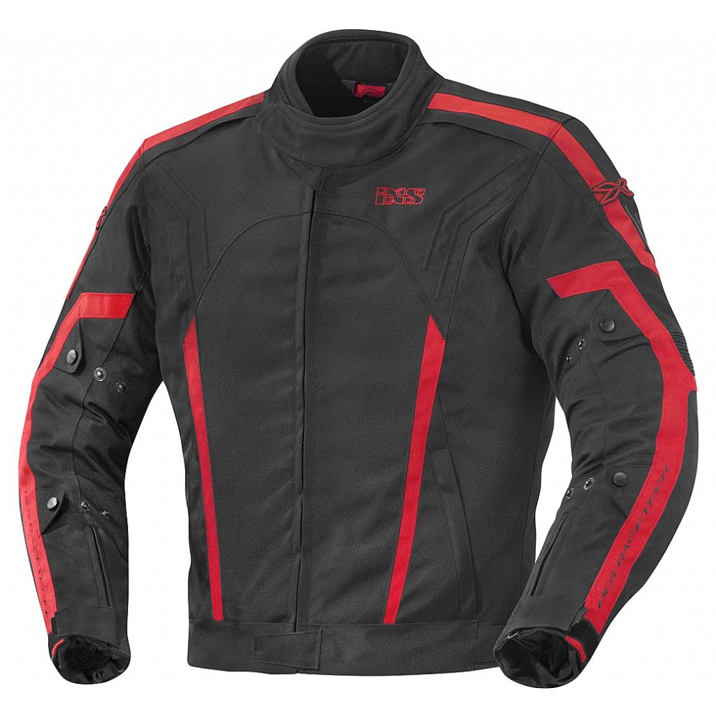 Куртка текстильная Randell черно-красная