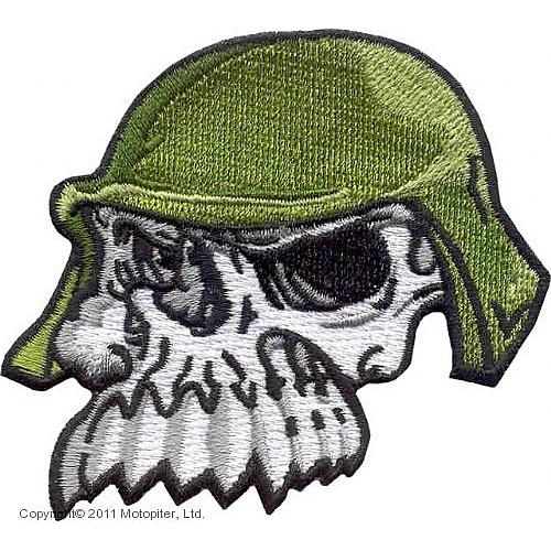 Skull Toother-Череп в каске.