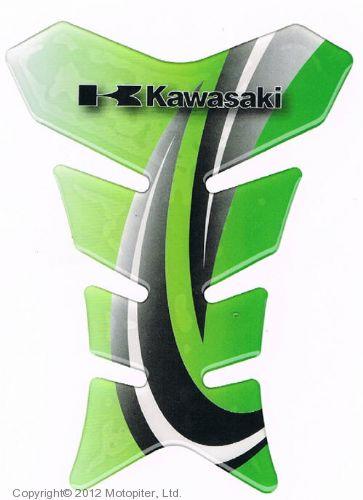 НАКЛАДКА НА БАК Kawasaki, зеленая
