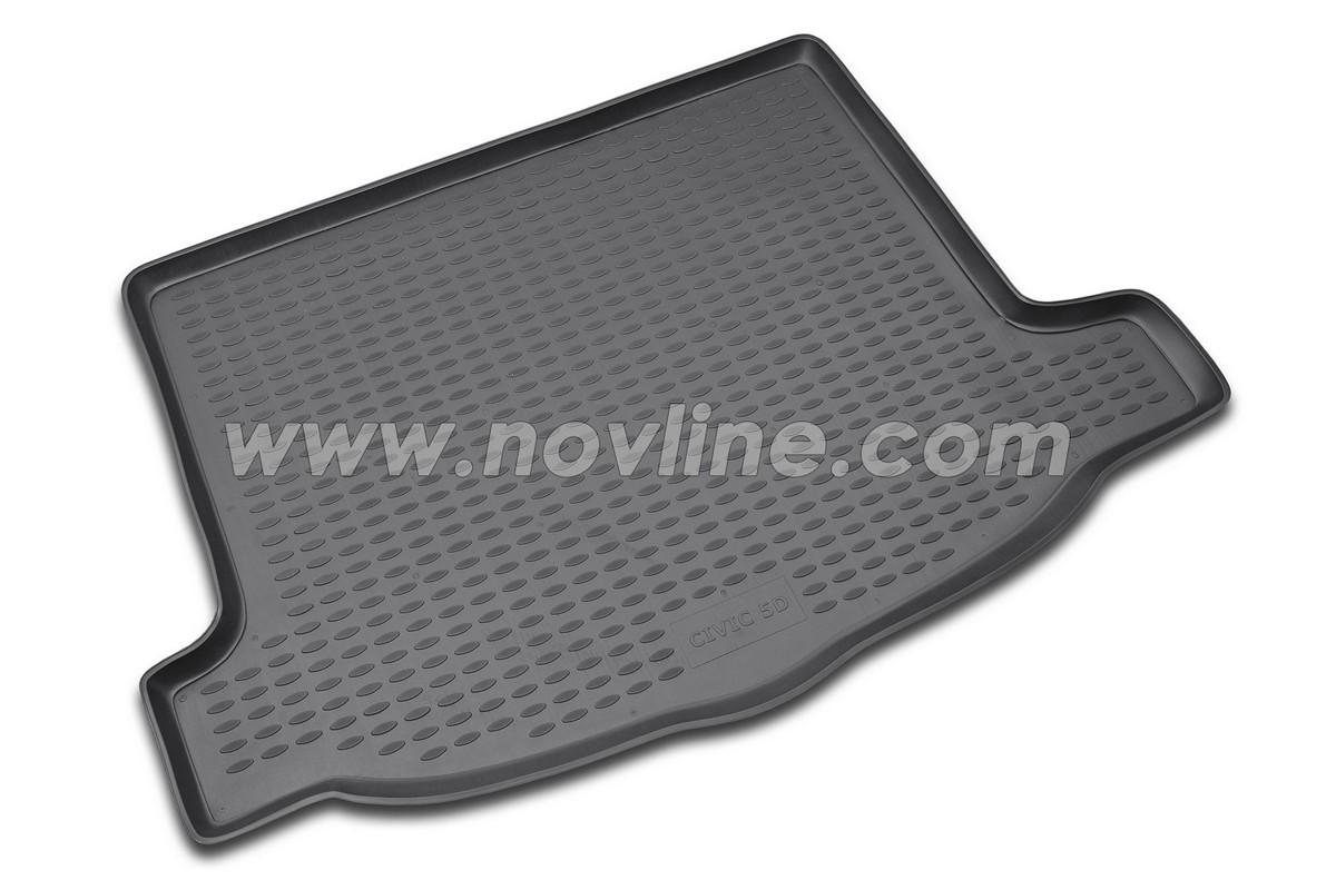 Коврик багажника Honda Civic 5D 2012-> (хэтчбек)
