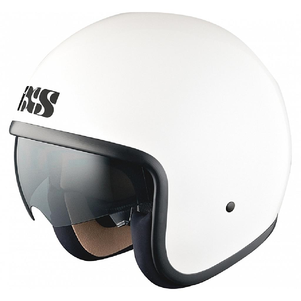 Открытый шлем HX 77 белый глянец