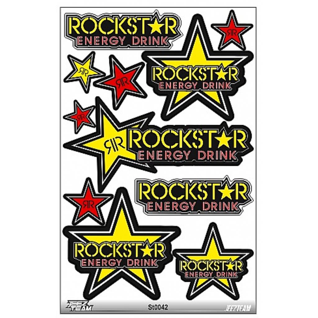 Наклейки Rockstar