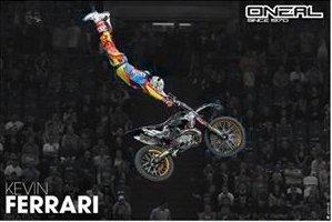 Постер Oneal MX 2015 Kevin Ferrari