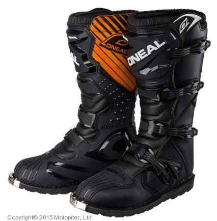 Мотоботы кроссовые Rider Boot черные