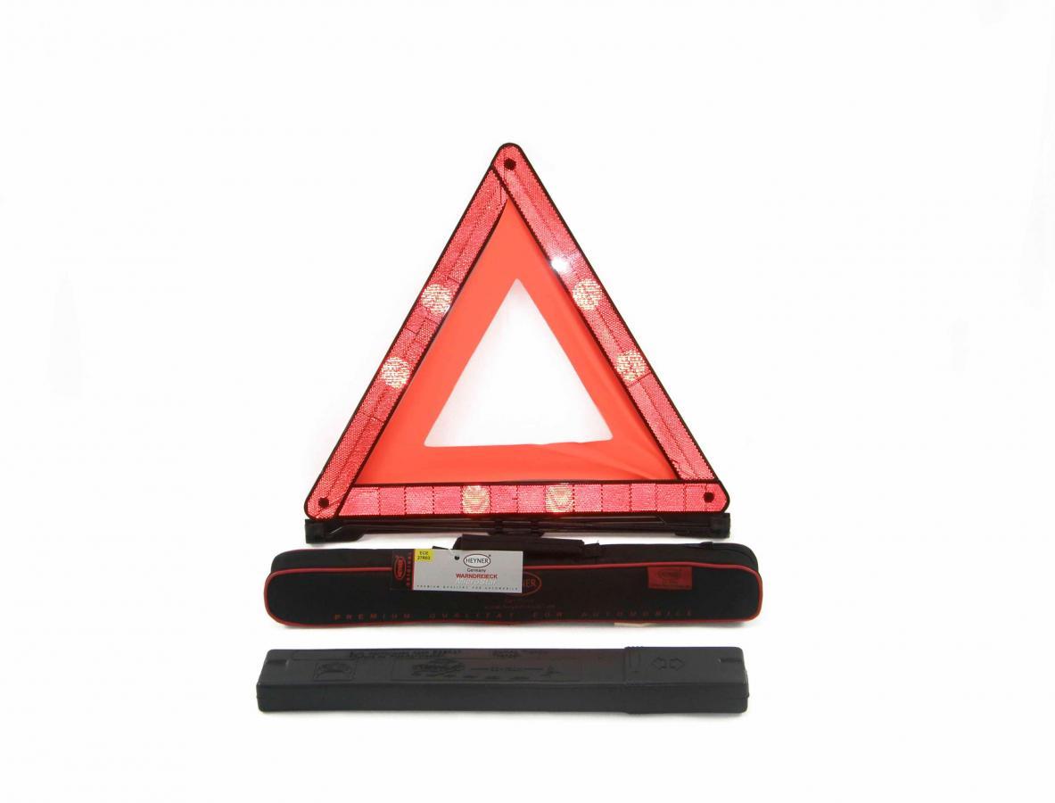 Знак аварийной остановки, евростандарт