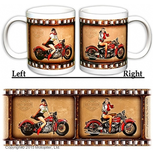 Мотокружка RETRO Girls & Motorcykles