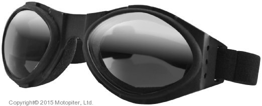 Маска мото BOBSTER Bugeye, зеркальные линзы