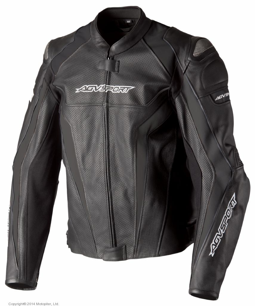 Кожаная куртка Corsa черная