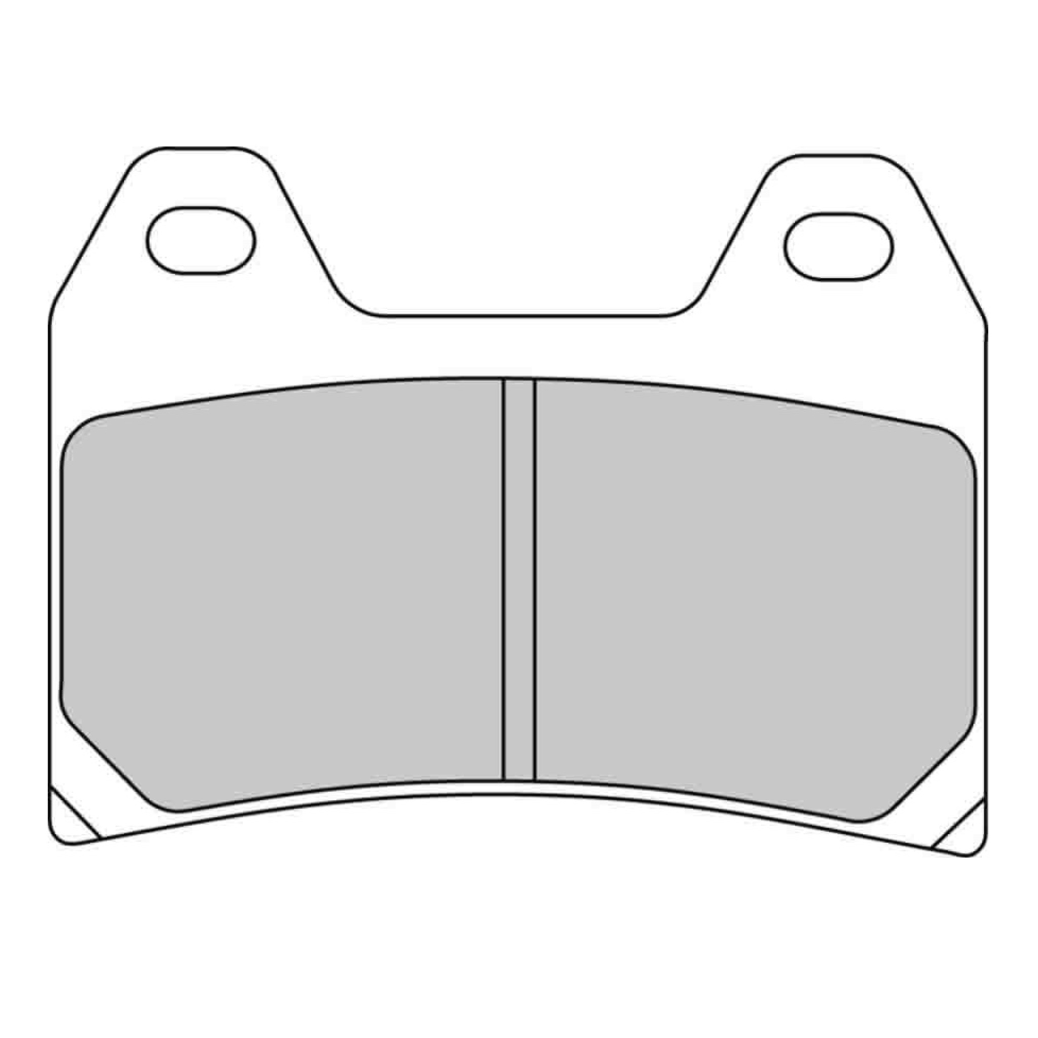 Тормозные колодки дисковые, FERODO(FDB2042P)