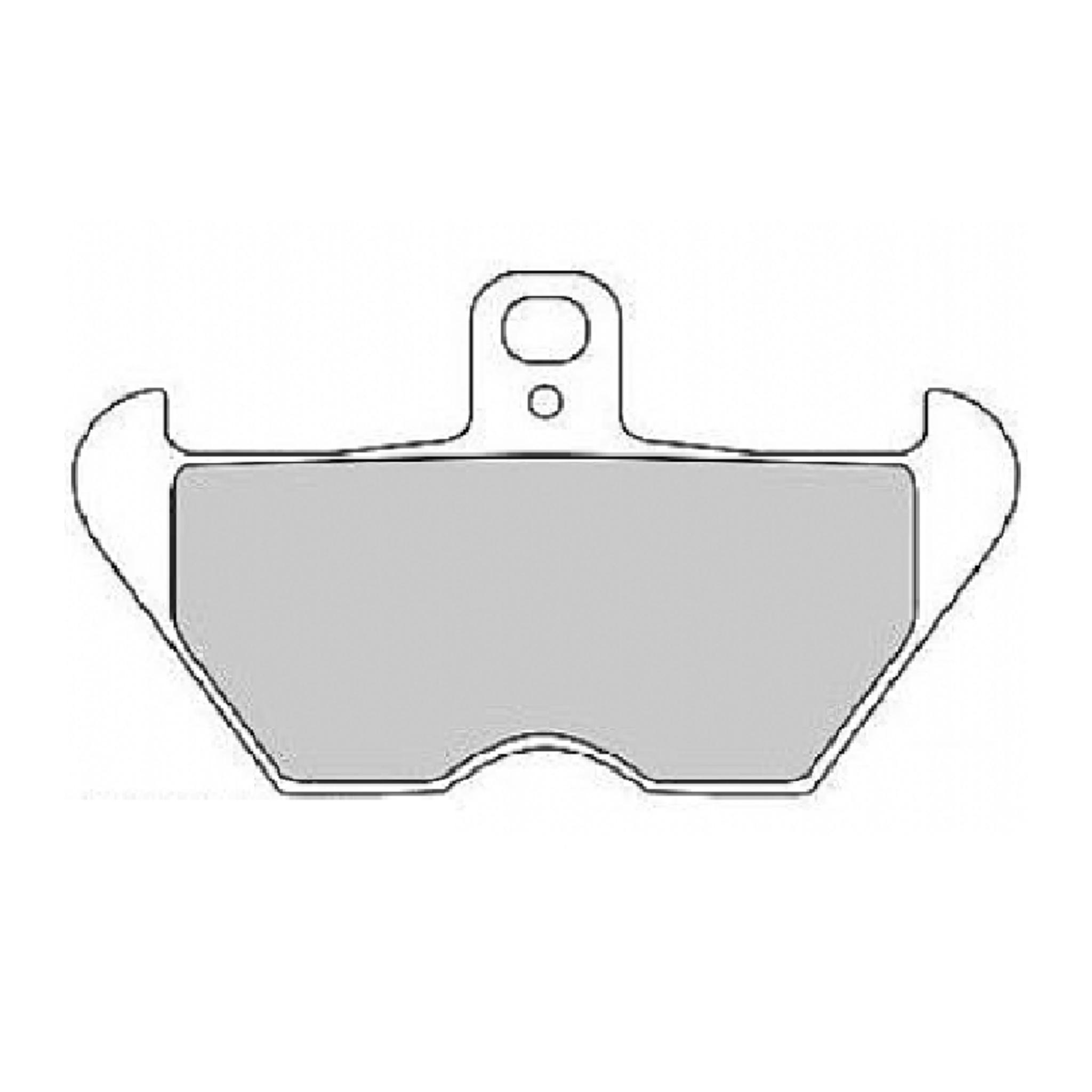 Тормозные колодки дисковые, FERODO(FDB2050P)