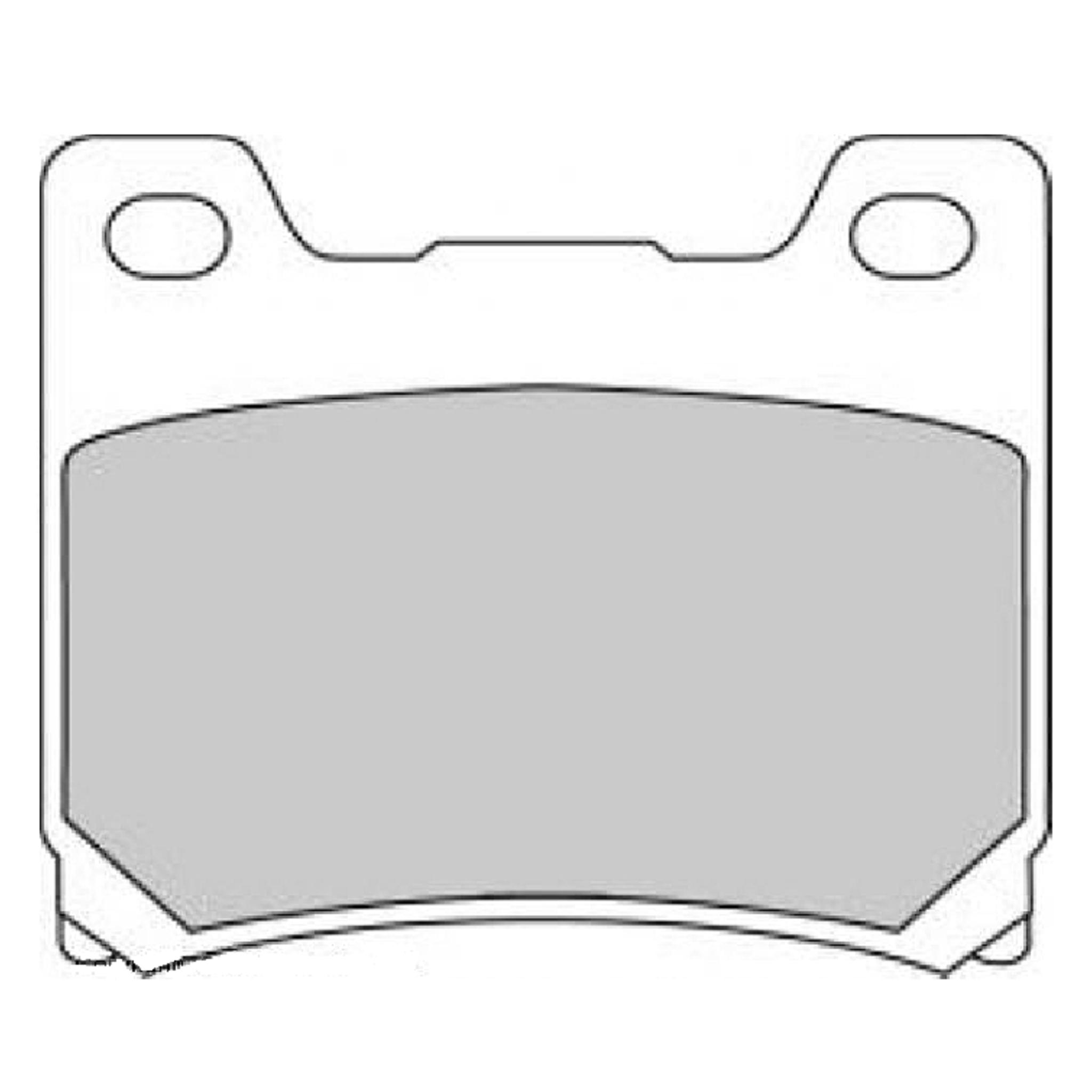 Тормозные колодки дисковые, FERODO(FDB337ST)