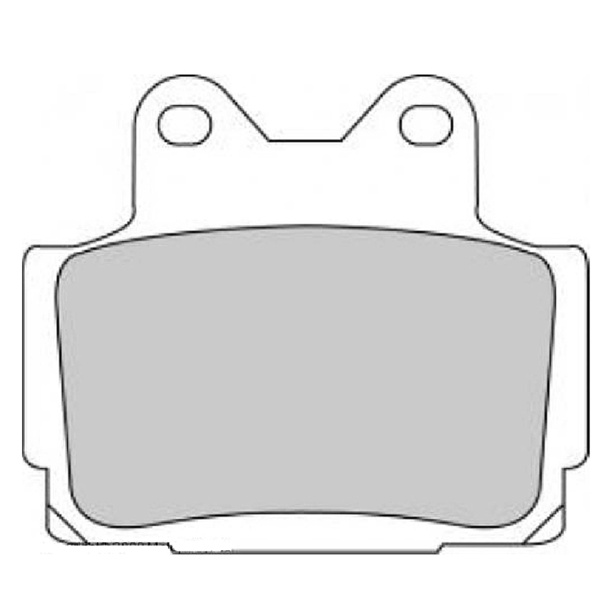 Тормозные колодки дисковые, FERODO(FDB386P)