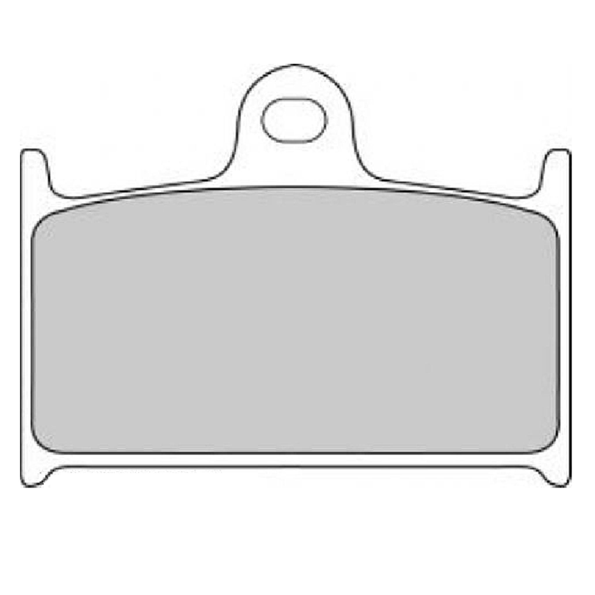 Тормозные колодки дисковые, FERODO(FDB557P)