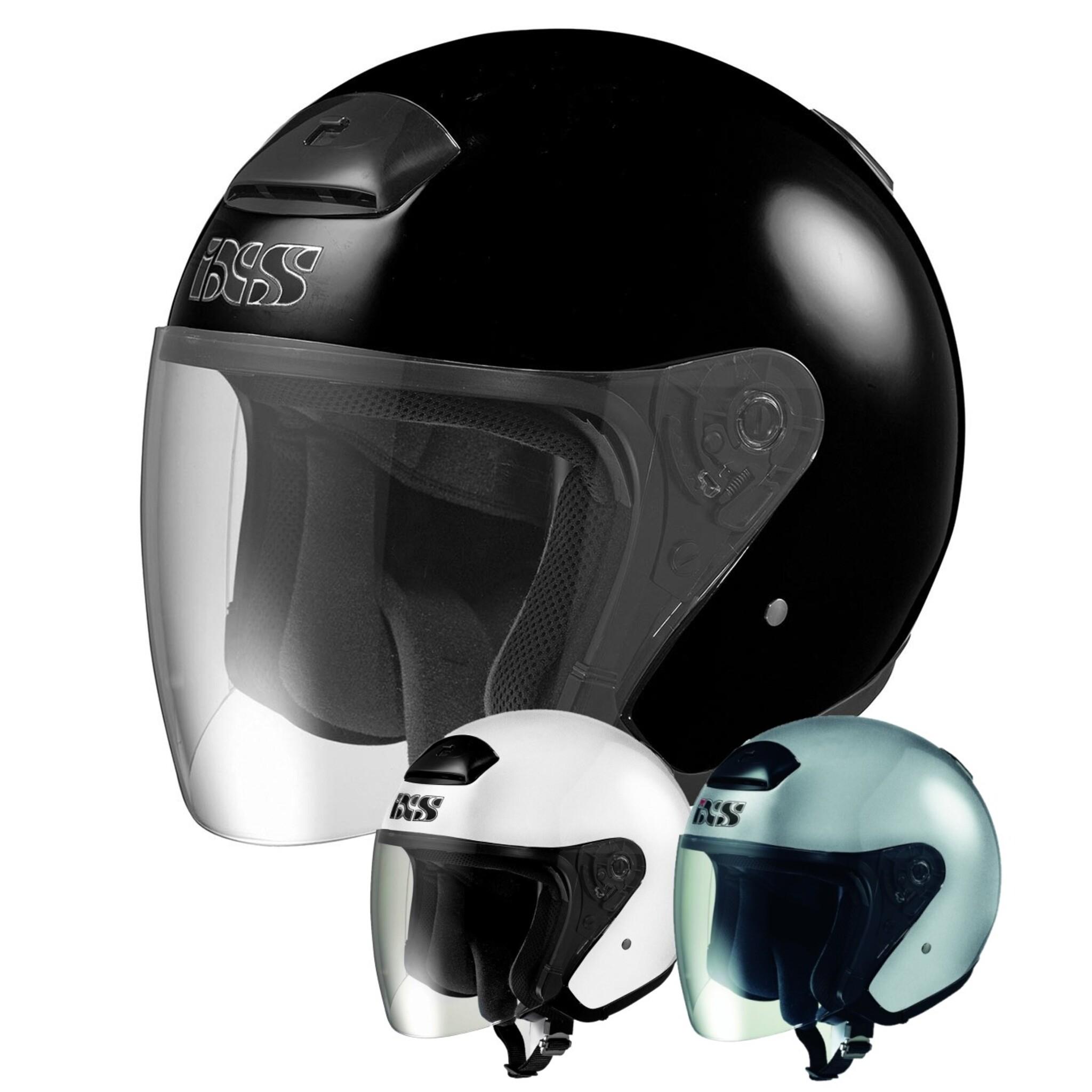 Шлем открытый IXS HX118, глянец