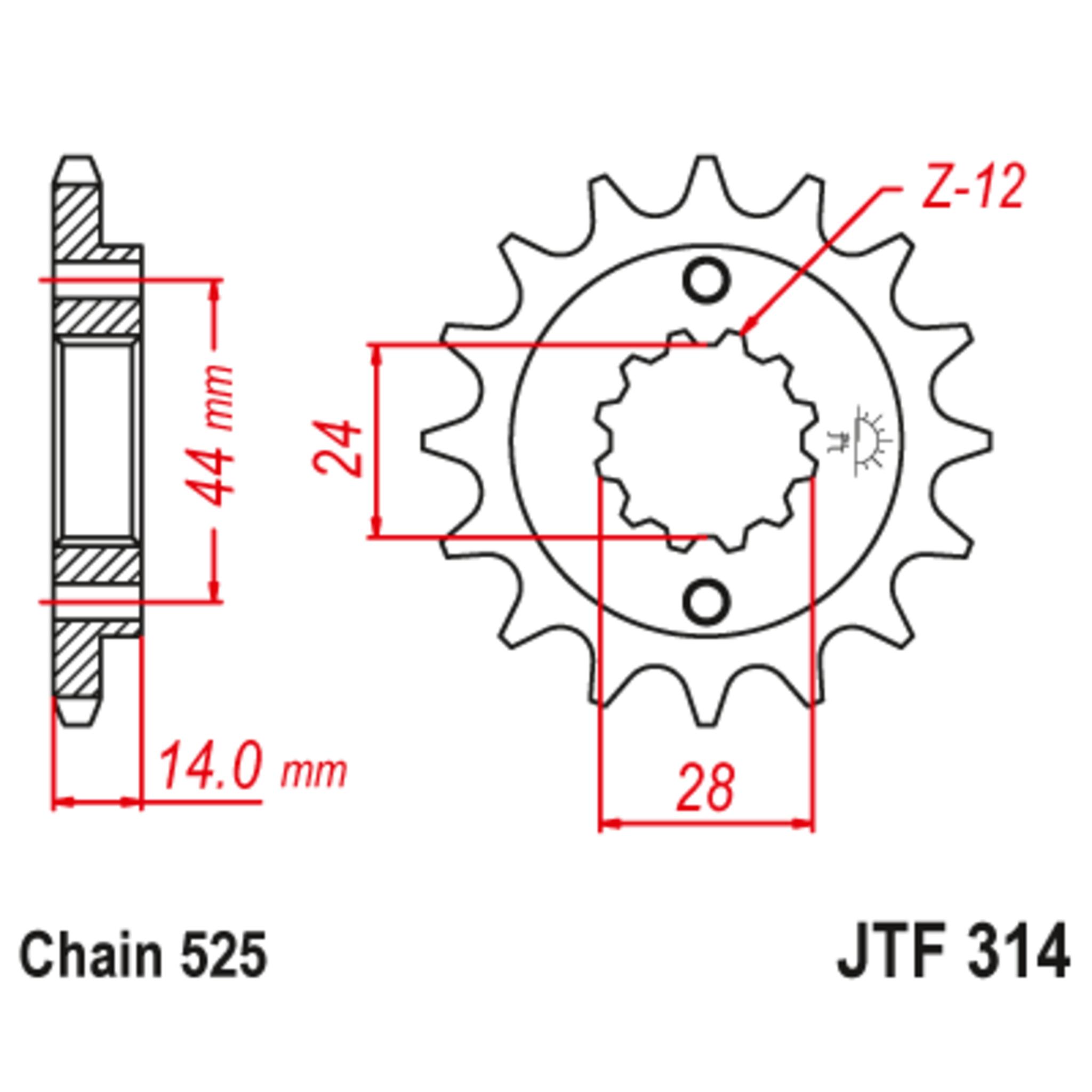Звезда ведущая , JT 314.16