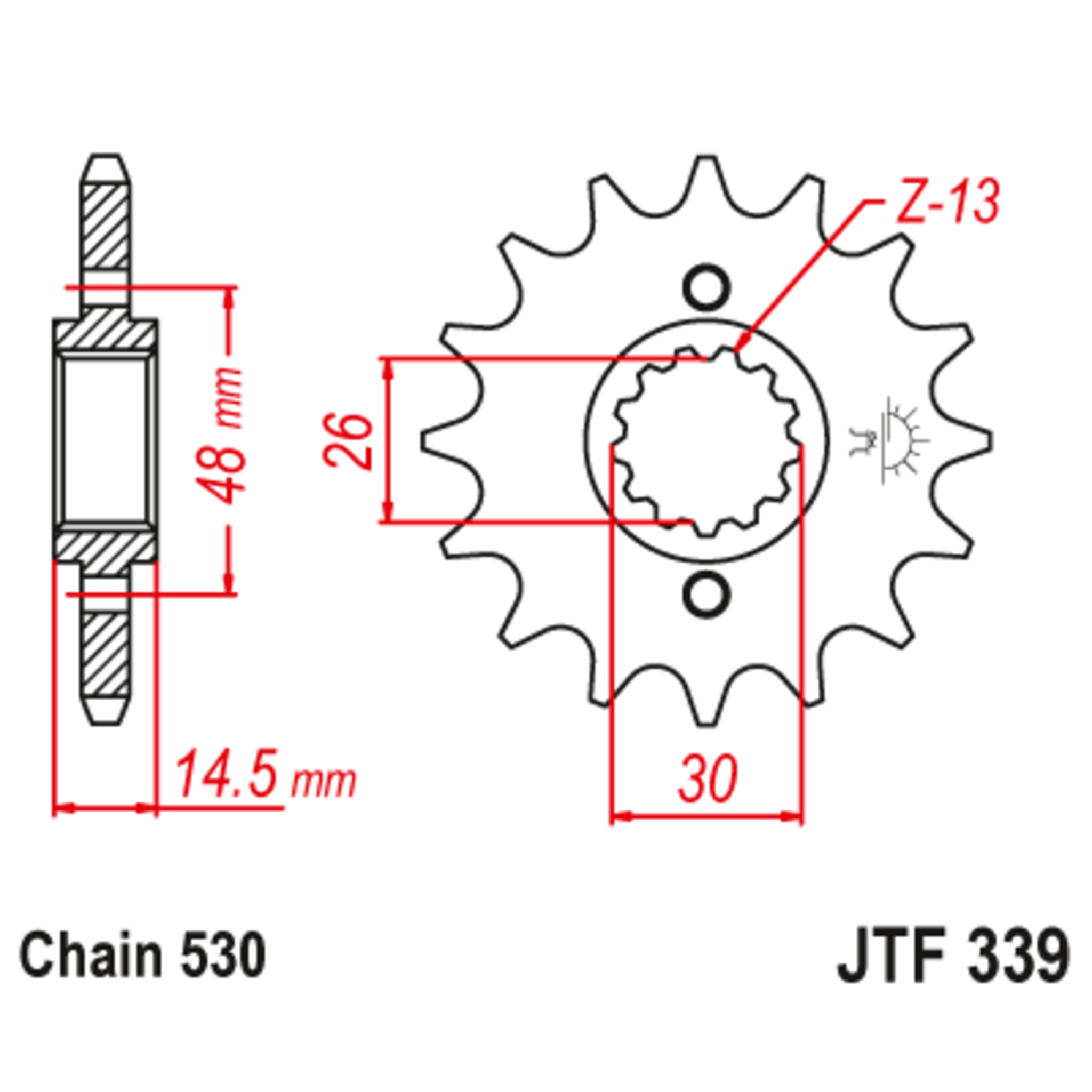 Звезда ведущая , JT 339.18
