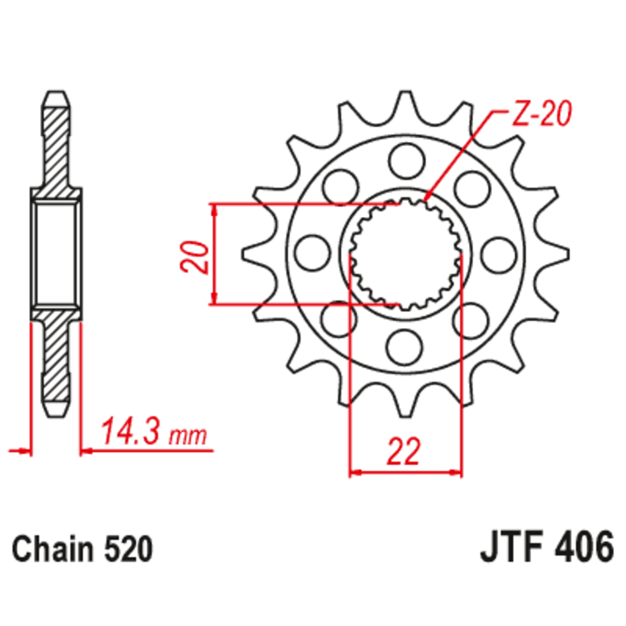Звезда ведущая , JT 406.16