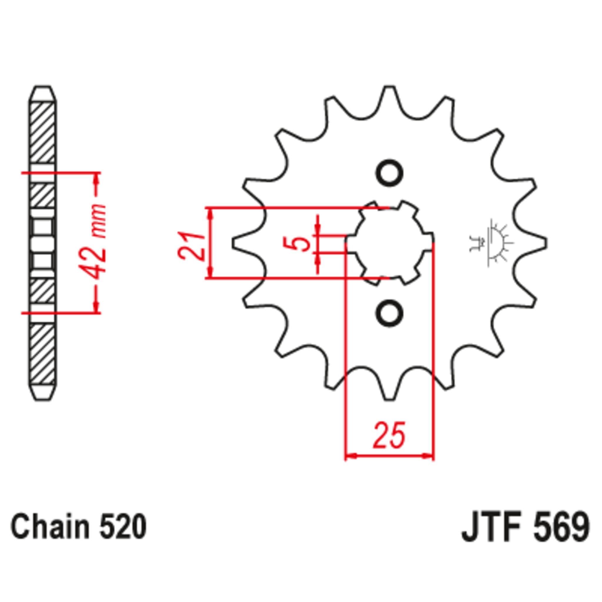 Звезда ведущая , JT 569.15