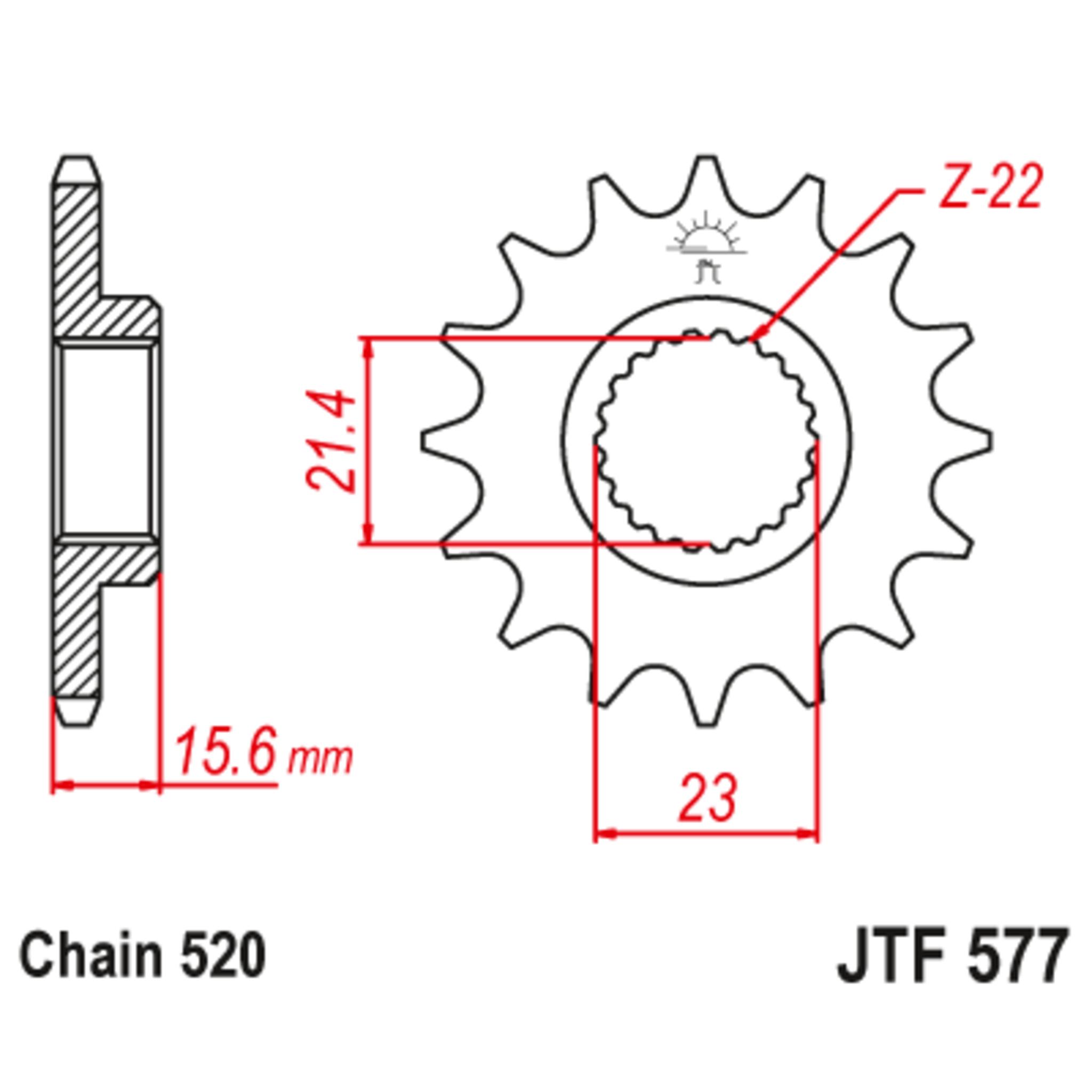 Звезда ведущая , JT 577.16