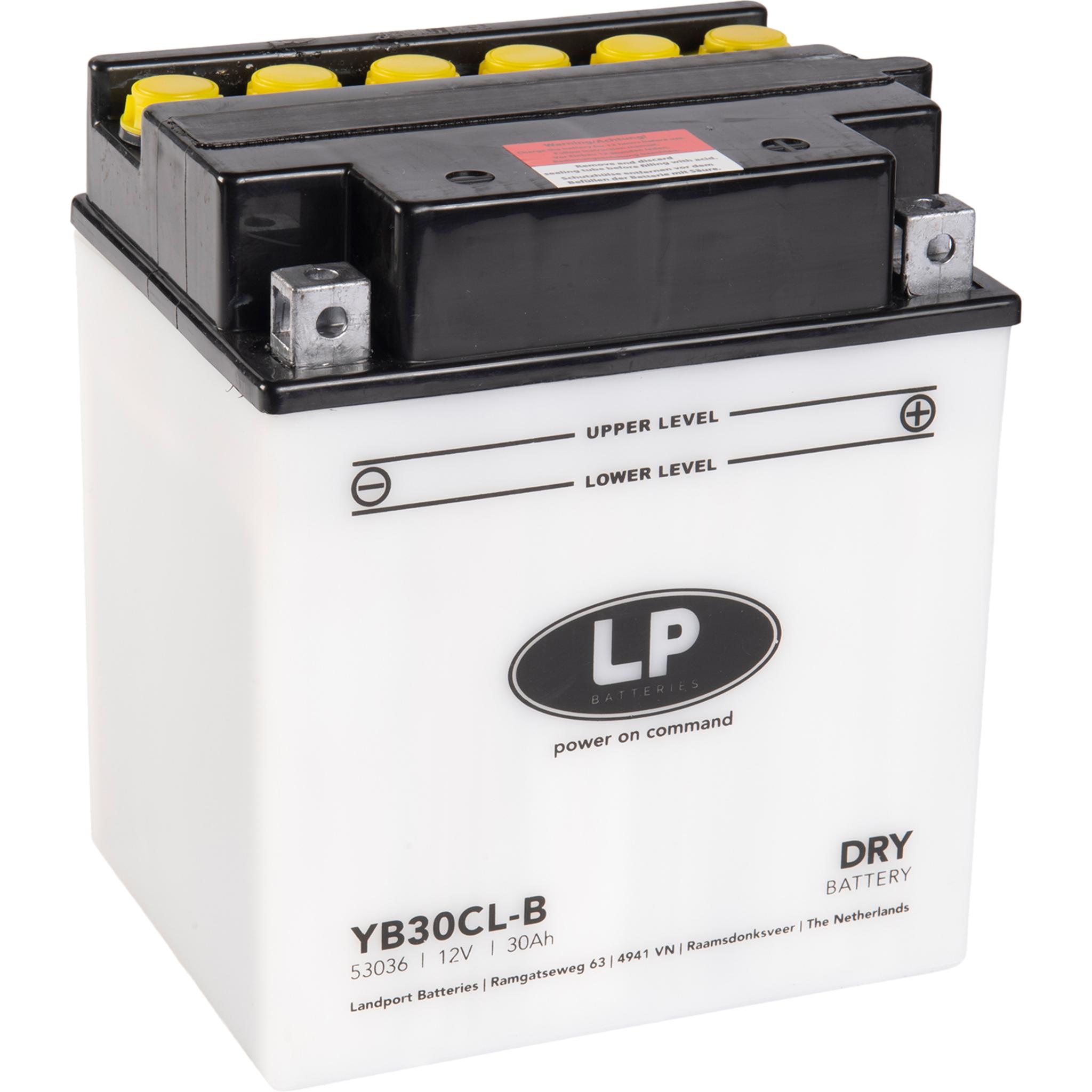 Аккумулятор Landport YB30CL-B, 12V, DRY