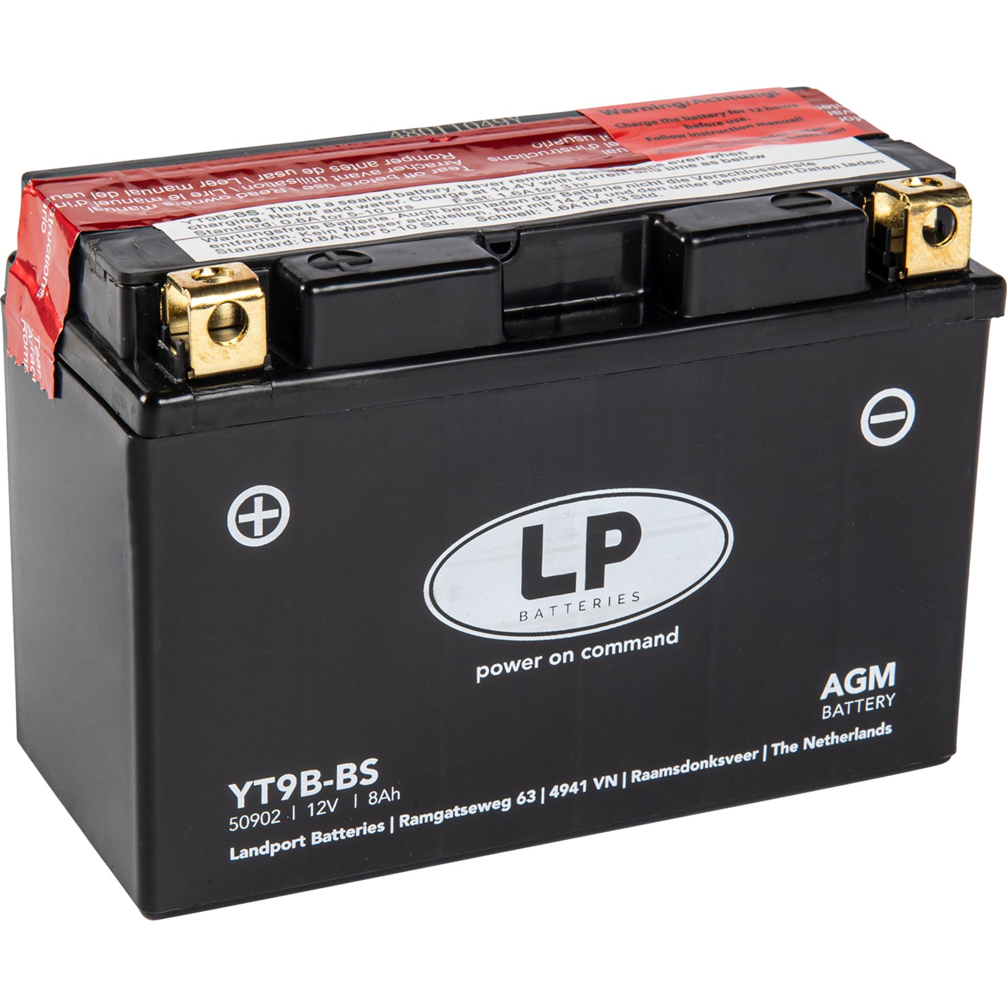 Аккумулятор Landport YT9B-BS, 12V, AGM