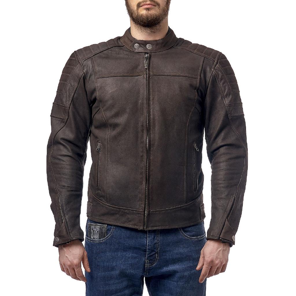 Кожаная куртка Bro