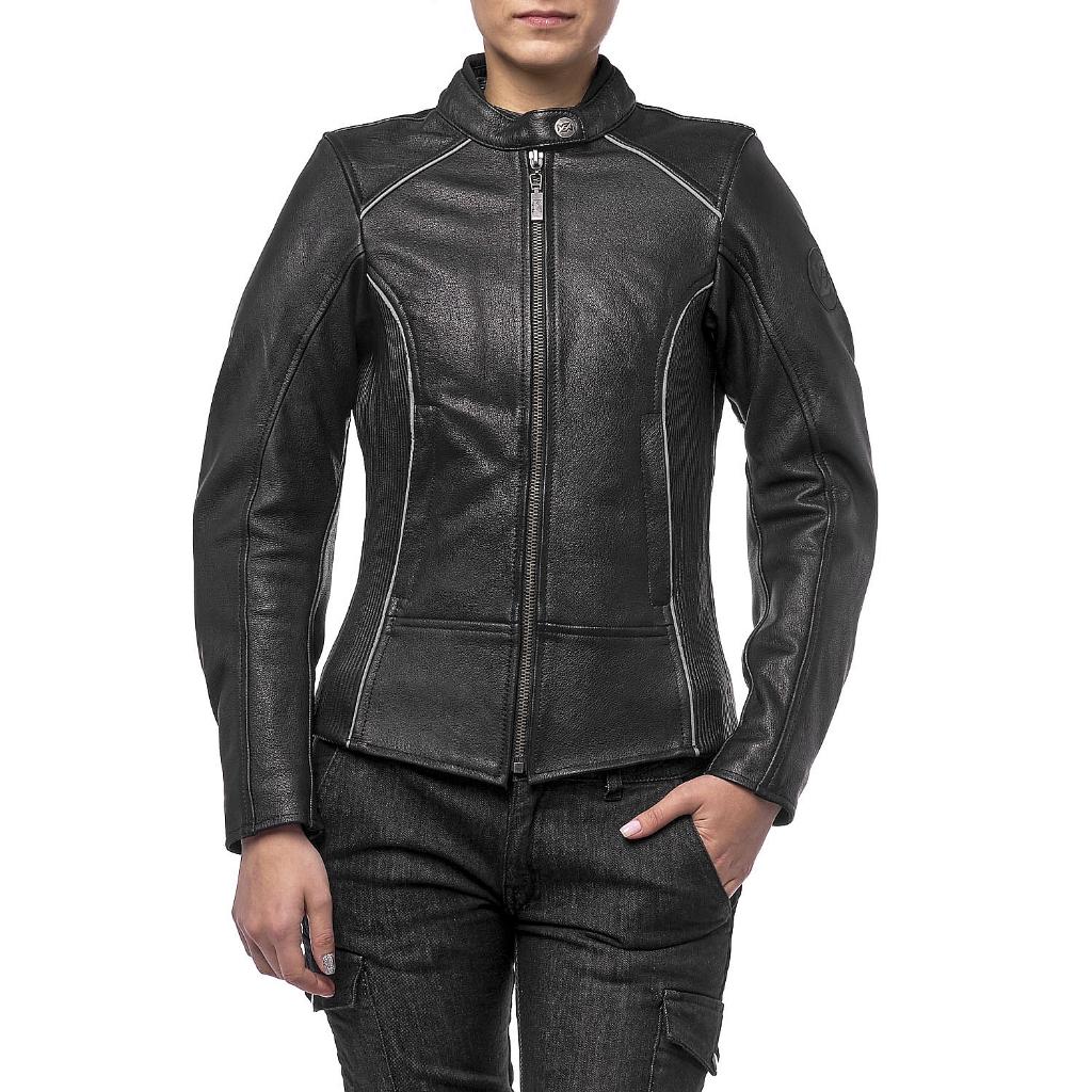 Куртка кожаная  MOTEQ Mira, женский