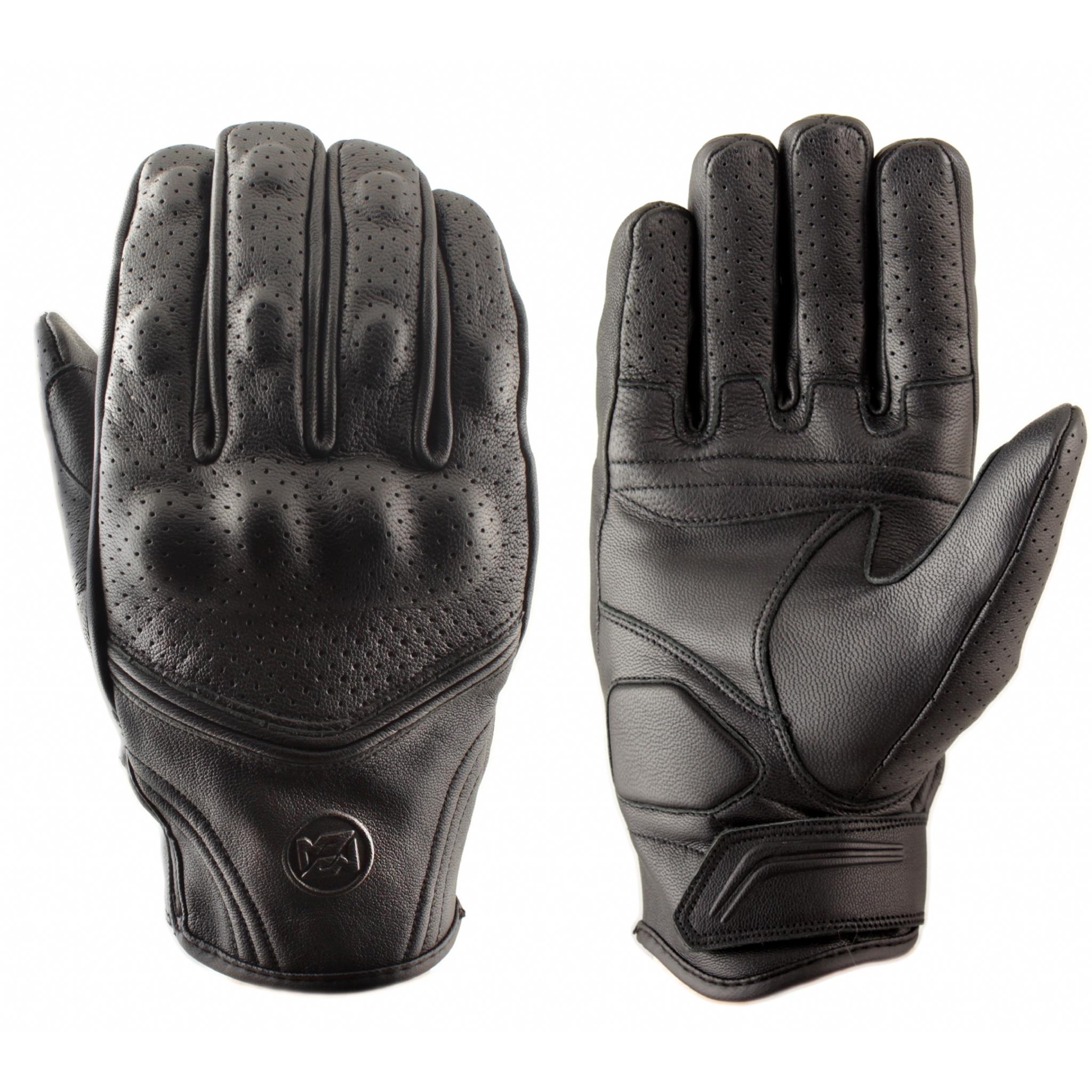 Перчатки мотоциклетные MOTEQ Vulcan перфорация, мужской(ие)