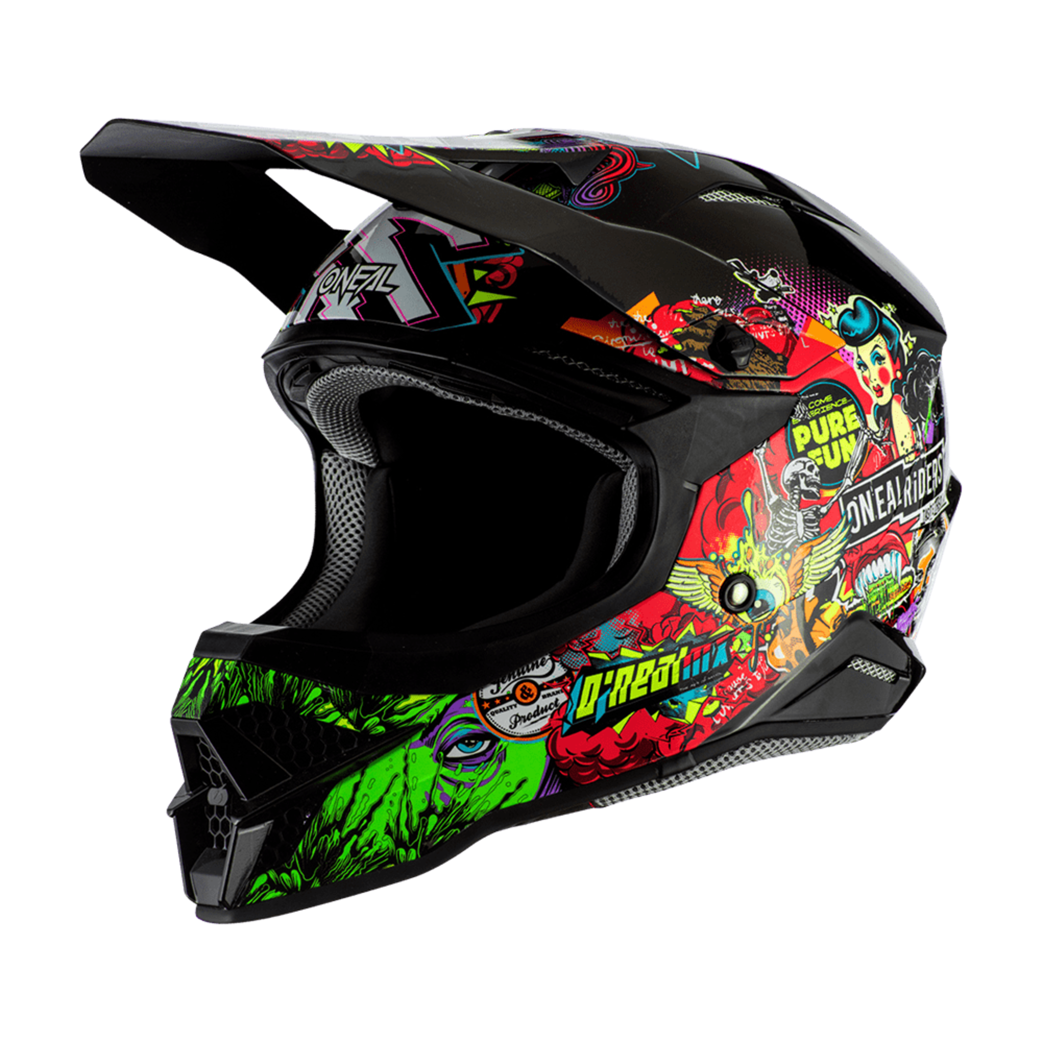 Шлем кроссовый O'NEAL 3Series Crank 2.0