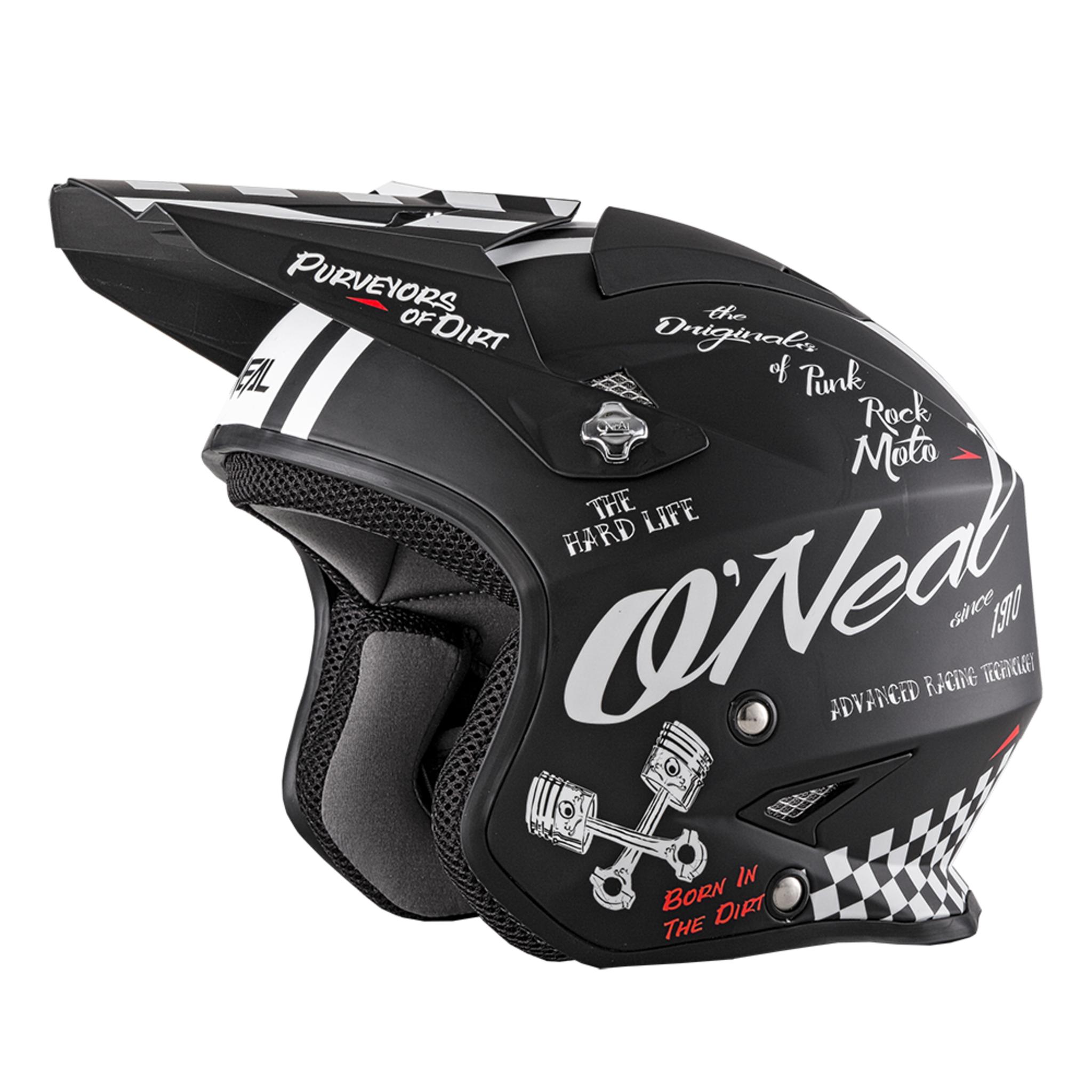 Шлем открытый O'NEAL SLAT TORMENT, мат.