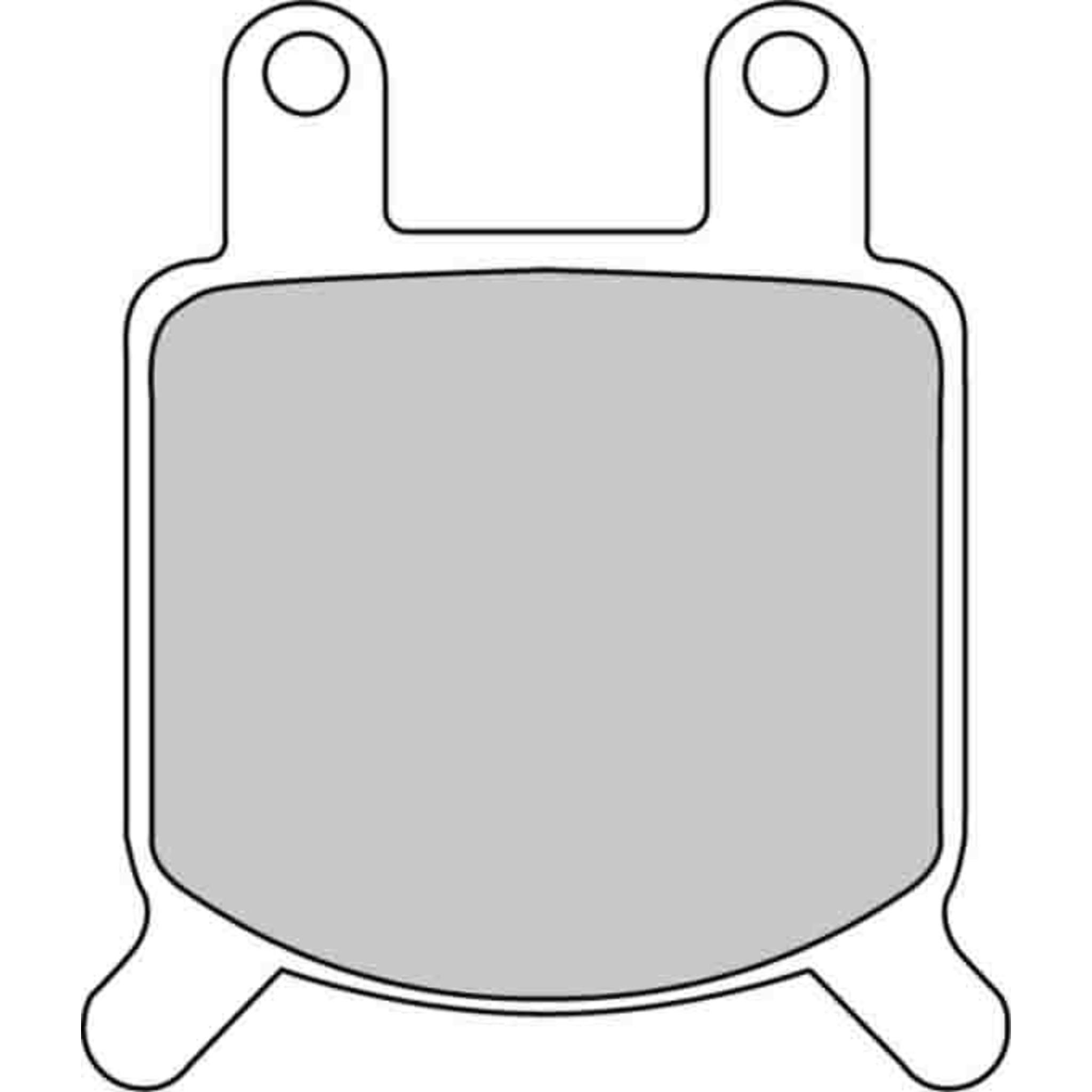 Тормозные колодки дисковые, PW(580-205)
