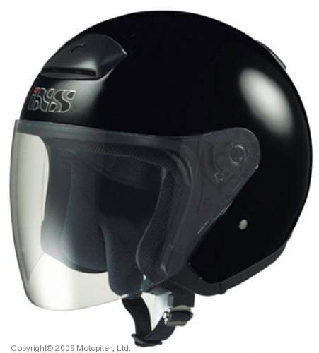 Шлем открытый HX118 черный глянец