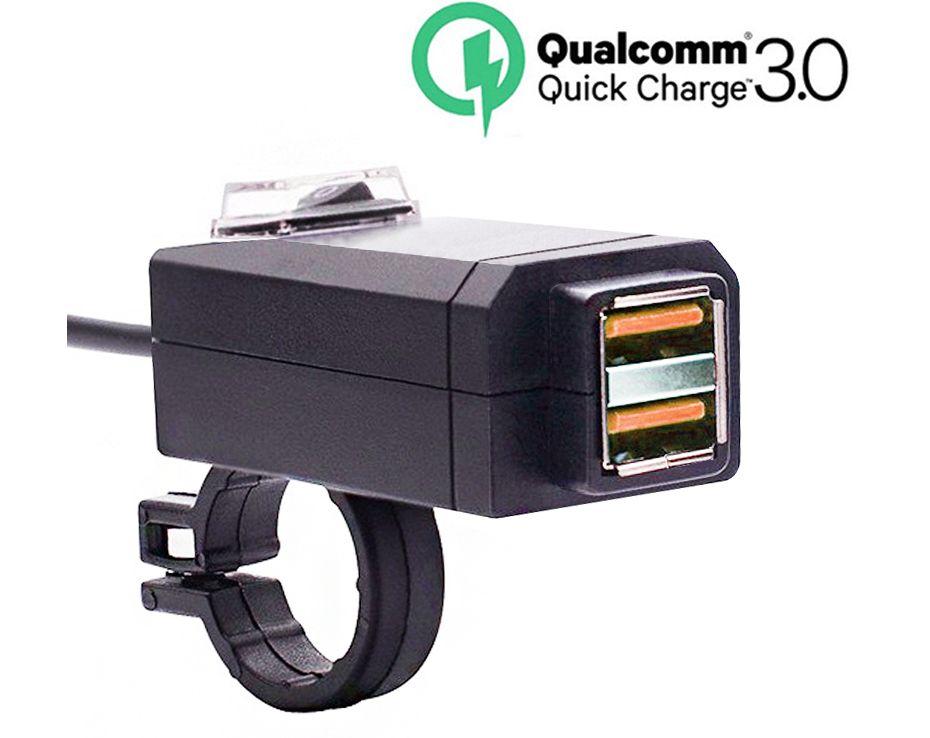 Розетка прикуривателя с 2 USB портами