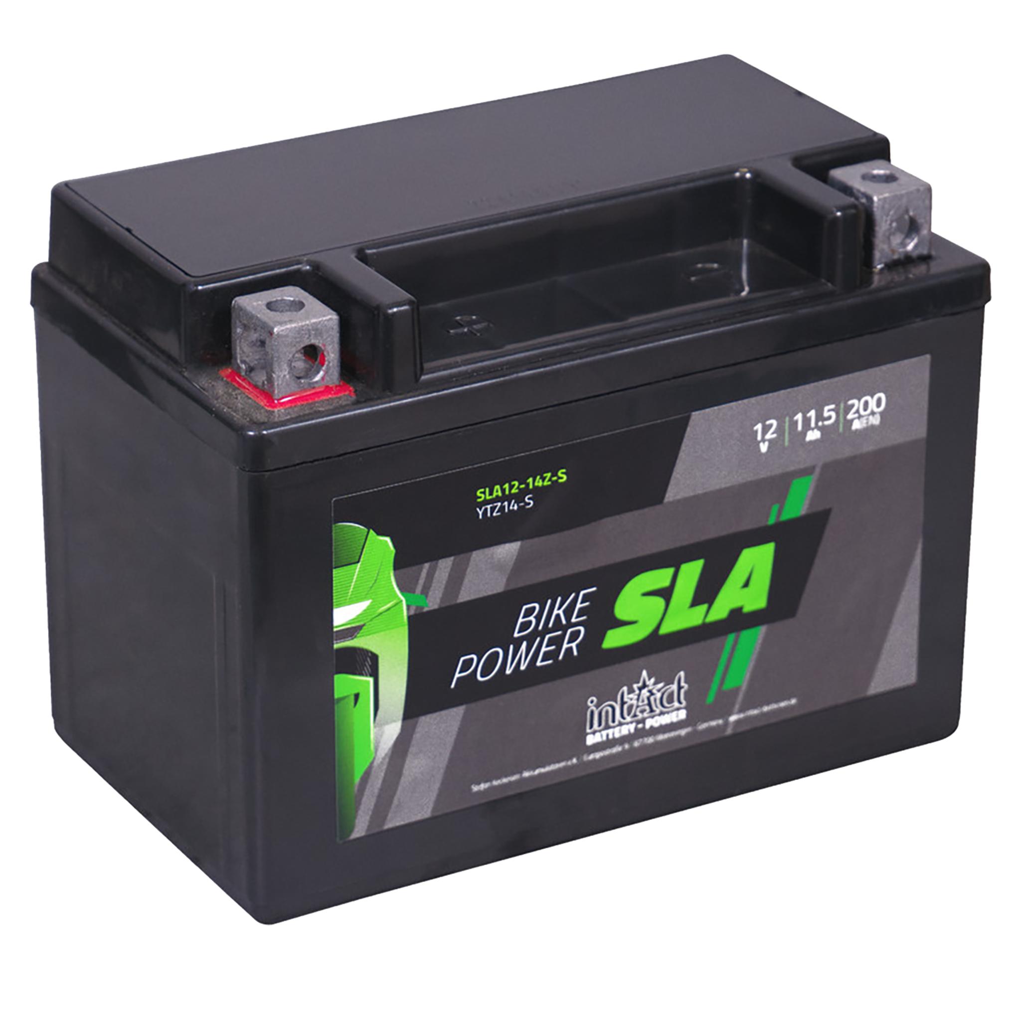 Аккумулятор intAct IS YTZ14-S, 12V, SLA