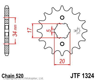 Звезда ведущая , JT 1324.13