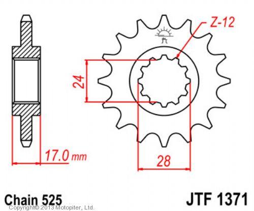 Звезда ведущая , JT 1371.14
