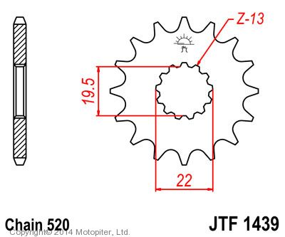 Звезда ведущая , JT 1439.14