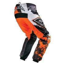 0124-560, Штаны elements shocker чёрно-оранжевые, размер 30/46, цвет Черный