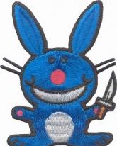 03242116, Крутой кролик с ножом (большой)