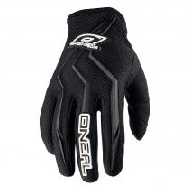 0390-112, Перчатки кроссовые ELEMENT черные, размер 2XL