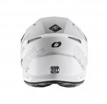 0627-0 (белый, L), Шлем кроссовый 3Series FLAT 2.0