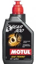 105777, трансмиссионное масло Gear 300 SAE 75W-90, размер 1 л